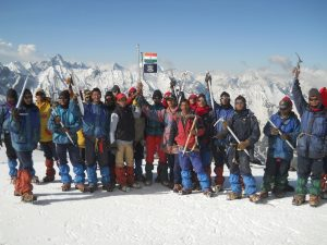 Achieving Heights in Mountaineering Expedition assisted by RIMC, McLeodganj, HP