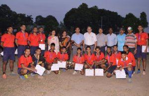 Group Photo - Inter House Football Tournament 2016